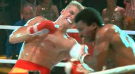 "Ivan Drago ""recordó"" a Apollo Creed"