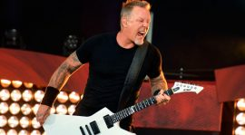 La primera foto del lado actoral de James Hetfield