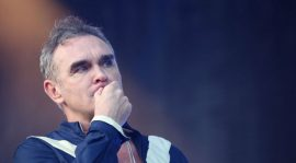 Morrissey grabó una canción con Billy Joe Armstrong