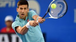 Es humano: Djokovic hizo un smash horrible