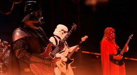 "Galactic Empire, la banda heavy inspirada en ""Star Wars"""